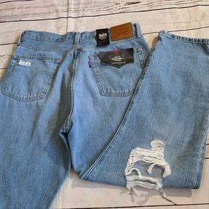 Levi's new NWT 501 high rise 30 x 26 jeans